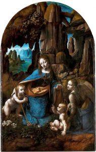 Leonardo da Vinci's Virgin of the Rocks