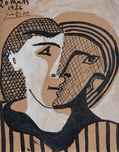 Picasso's Head of a Woman