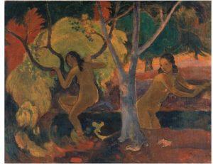 Paul Gauguin's Bathers at Tahiti