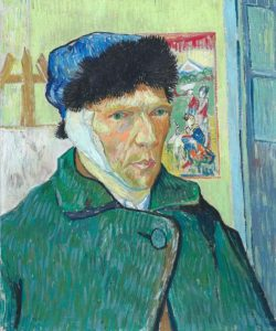 Van Gogh's Self-Portrait with Bandaged Ear